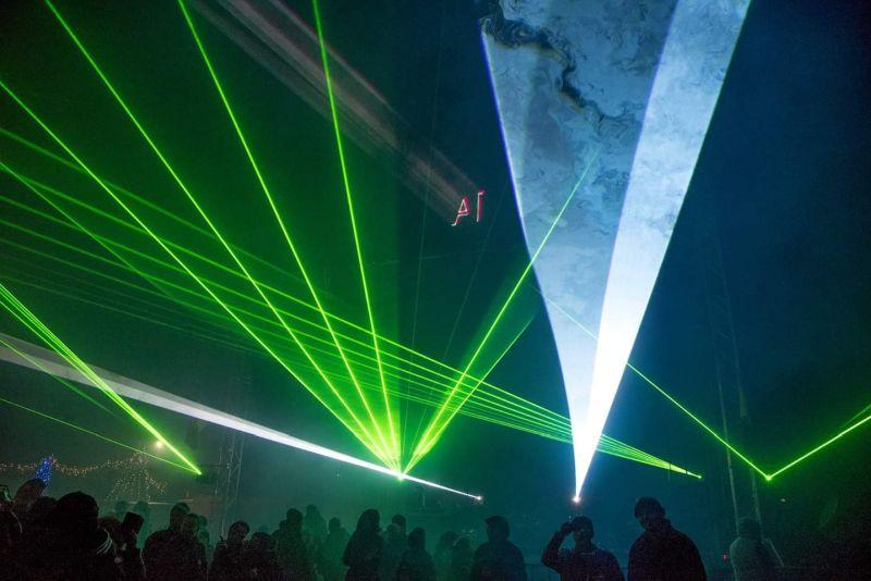 Evenimente - spectacol lasere